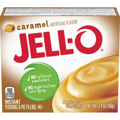 Jell-O Caramel Instant Pudding & Pie Filling Mix
