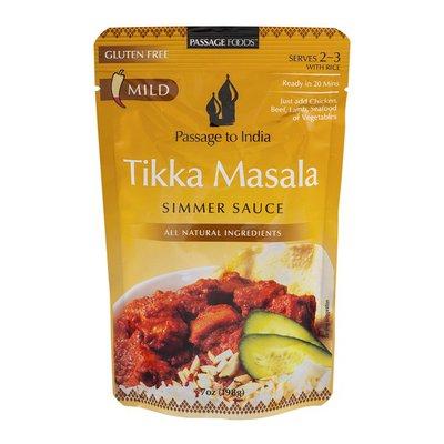 Passage to India Simmer Sauce, Tikka Masala