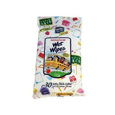 Lucky School Bus Antibacterial Wet Wipes