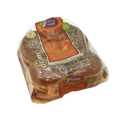 Open Nature Seeded Sandwich Buns