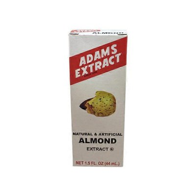 Adams Extract Natural & Artificial Almond Extract