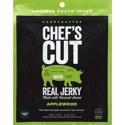 Chef's Cut Jerky, Real Bacon, Applewood