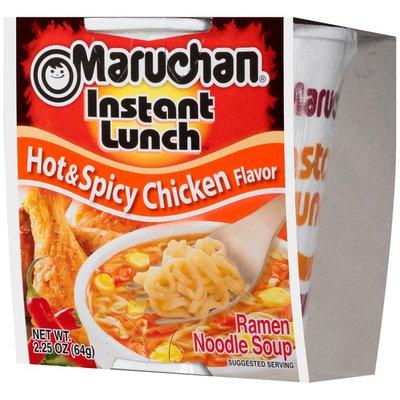 Maruchan Hot & Spicy Chicken Flavor Ramen Noodle Soup