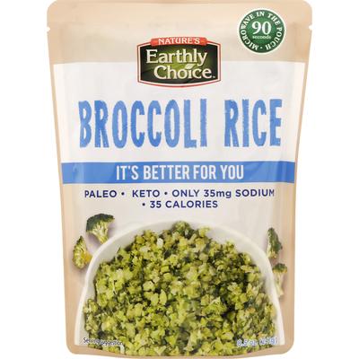 Nature's Earthly Choice Broccoli Rice