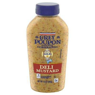GREY POUPON Deli Dijon Mustard with Horseradish