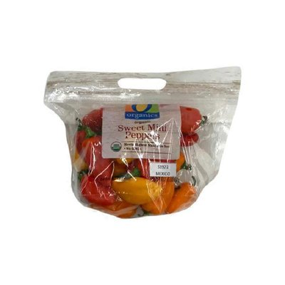 O Organics Sweet Mini Peppers