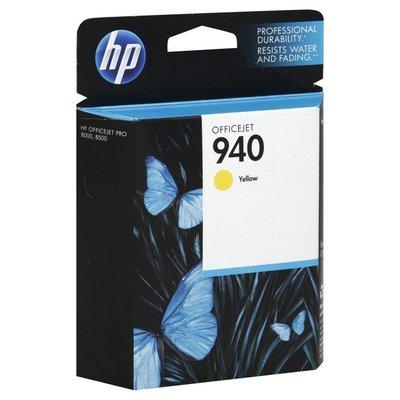 Hewlett Packard Ink Cartridge, OfficeJet, Yellow 940