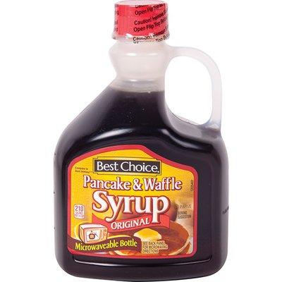 Best Choice Microwaveable Pancake & Waffle Syrup