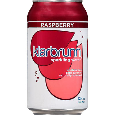 Klarbrunn Sparkling Water, Raspberry