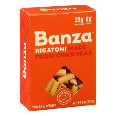 Banza Pasta, Rigatoni