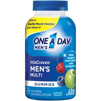 One A Day Men's Multi Gummies Multivitamin/multimineral Supplement