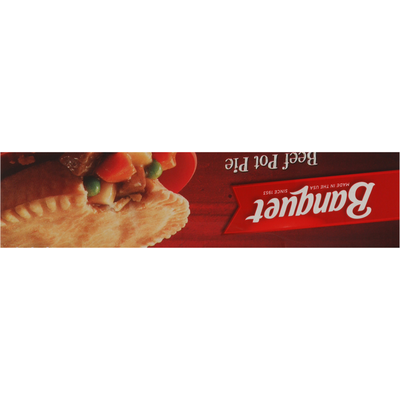 Banquet Pot Pie, Beef
