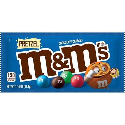 M&M's Milk Chocolate Pretzel Candies