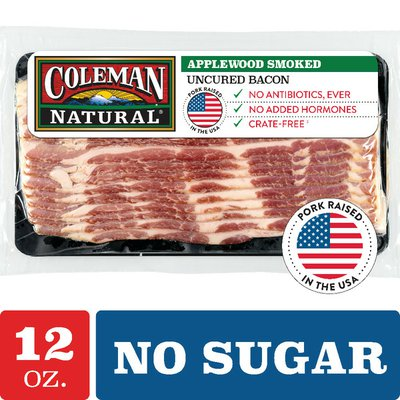 Coleman Uncured Applewood Bacon
