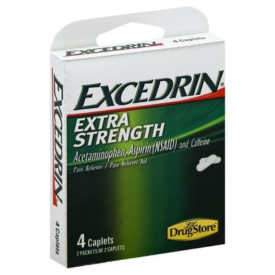 Excedrin Pain Reliever/Pain Reliever Aid, Extra Strength, Caplets