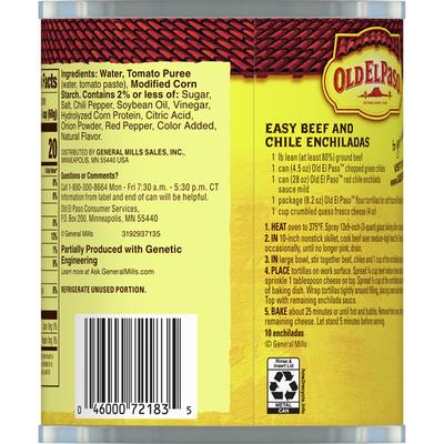 Old El Paso Enchilada Sauce, Mild, Red