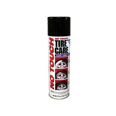 No Touch NT21-6 Shines Easy Tire Care Wheel Cleaner Protector Spray Foam