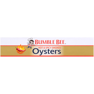 Bumble Bee Hot & Spicy Smoked Oysters