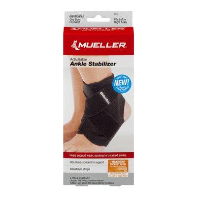 Mueller Ankle Stabilizer, Adjustable, Maximum