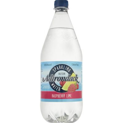 Adirondack Sparkling Water, Raspberry Lime