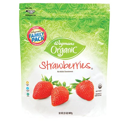 Wegmans Organic Food You Feel Good About Strawberries, FAMILY PACK