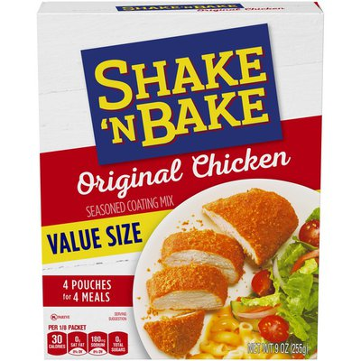 Shake 'N Bake Original Chicken Seasoned Coating Mix Value Size