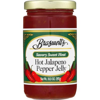 Braswell's Savory Sweet Heat Hot Jalapeno Pepper Jelly