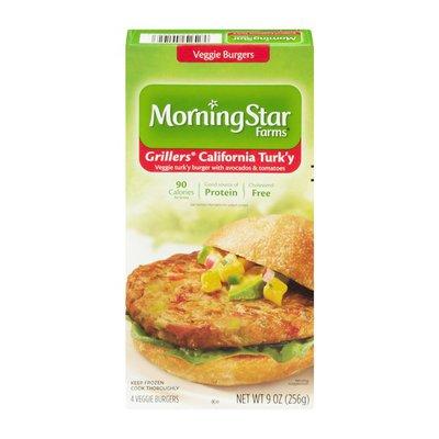 Morning Star Farms Grillers California Turk'y Veggie Burgers