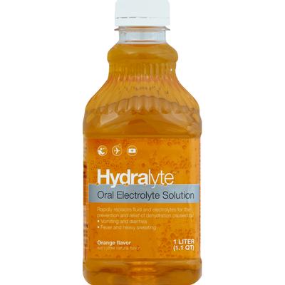 Hydralyte Oral Electrolyte Solution, Orange