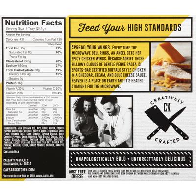 Caesars Kitchen Chicken Mac & Cheese, Gluten Free, Buffalo Style, Recipe 08
