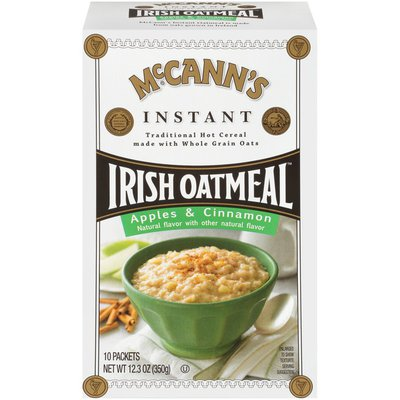 McCann's Apples & Cinnamon Instant Irish Oatmeal