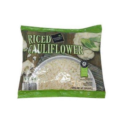 Season's Choice Plain Riced Cauliflower
