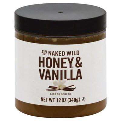 Naked Wild Honey Spread, Honey & Vanilla