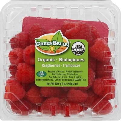 GreenBelle Raspberries, Organic