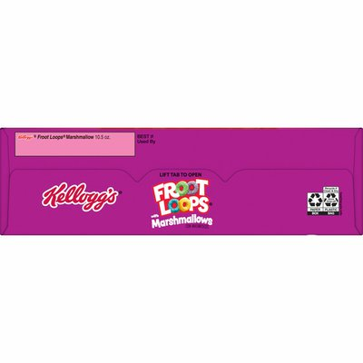 Kellogg's Froot Loops Breakfast Cereal with Marshmallows, Fruit Flavored, Breakfast Snacks with Vitamin C, Original with Marshmallows