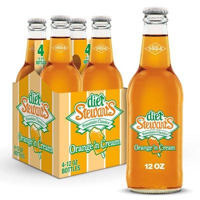 Diet Stewart's Orange 'n Cream Soda