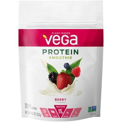 Vega Bodacious Berry Flavor Protein Smoothie Instant Powder Drink Mix