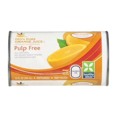 SB Orange Juice, Frozen Concentrate, Pulp Free