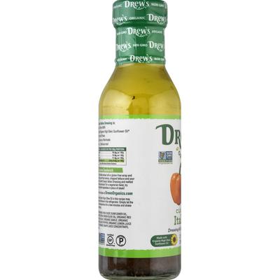 Drew's Organics Dressing & Quick Marinade, Classic Italian