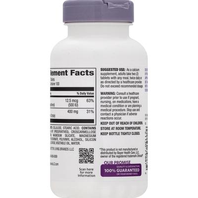 Signature Care Calcium Citrate + D3 Petites, Tablets