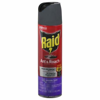 Raid Ant and Roach Killer 26 Lavender