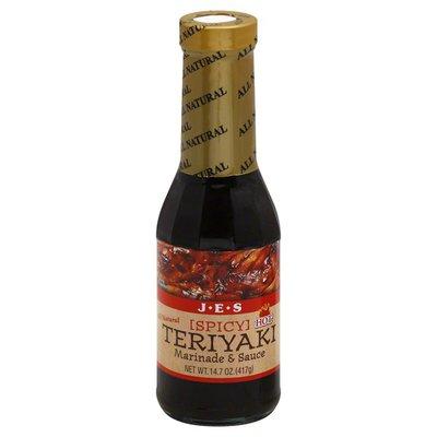 JES Marinade & Sauce, Teriyaki, Spicy Hot