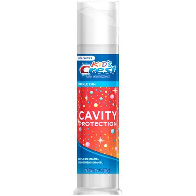 Crest Cavity Protection Sparkle Fun Flavor Toothpaste