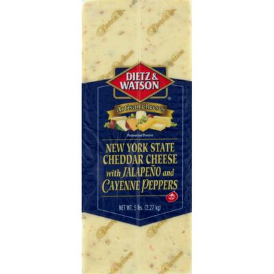 Dietz & Watson Jalapeno & Cayenne Cheddar Cheese
