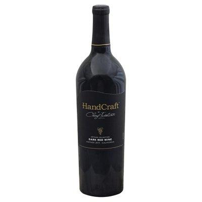HandCraft Red Wine, Dark, California, Vintage 2015