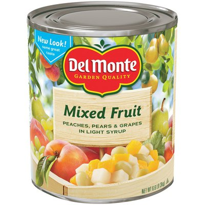 Del Monte In Light Syrup Mixed Fruit