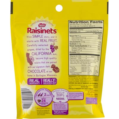 Raisinets Raisins, Dark Chocolate