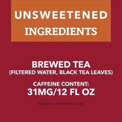 Gold Peak Unsweetened Black Iced Tea Drink