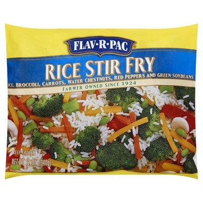 Flav R Pac Rice Stir Fry