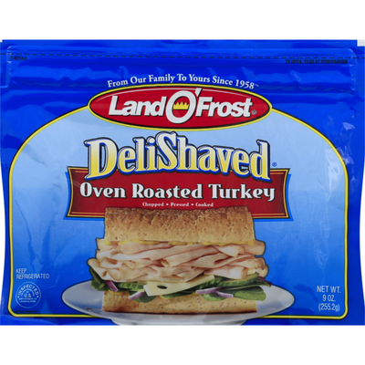 Land O' Frost DeliShaved Turkey Oven Roasted